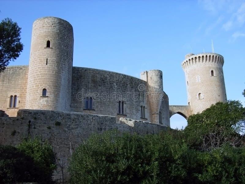 Castello 4 di Bellver fotografia stock