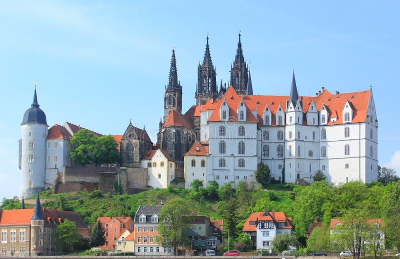 Castello Albrechtsburg Meissen fotografia stock