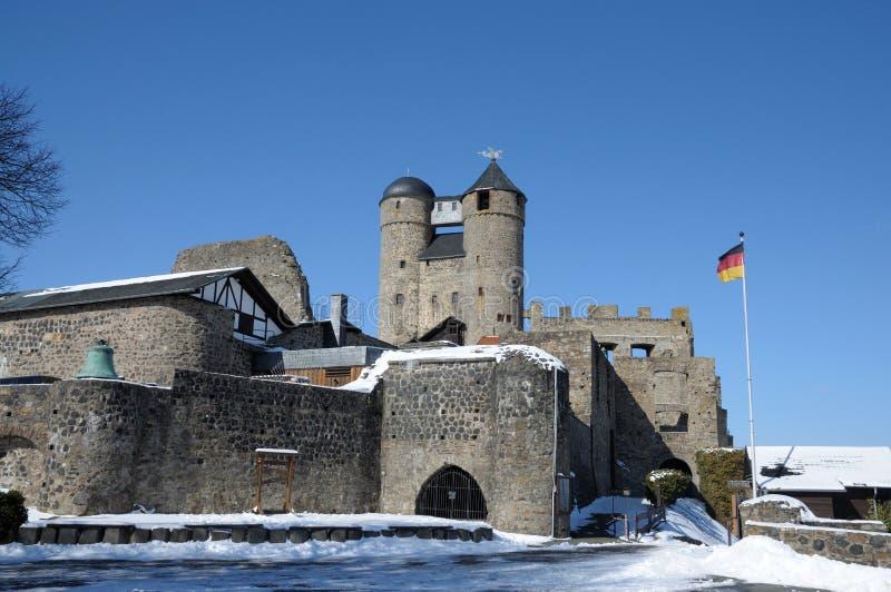 Castello antico in Germania fotografia stock libera da diritti