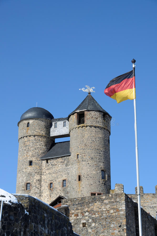 Castello antico in Germania immagini stock libere da diritti