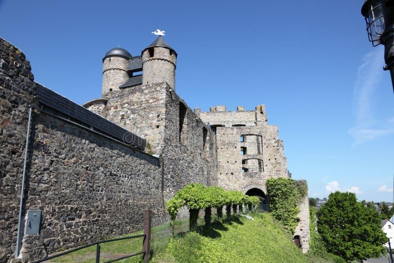 Castello antico in Germania fotografia stock