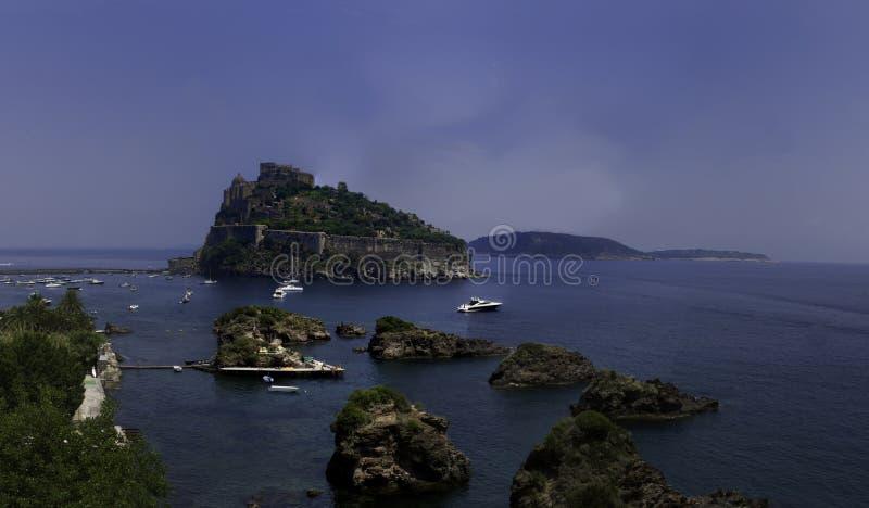 Castello Aragonese images libres de droits