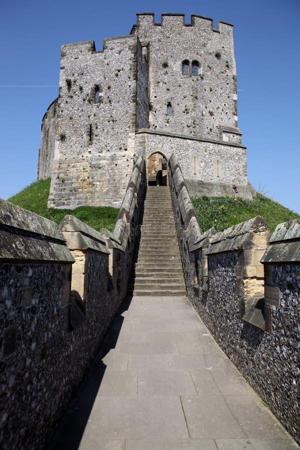 Castello Arundel inglese medioevale fotografia stock libera da diritti