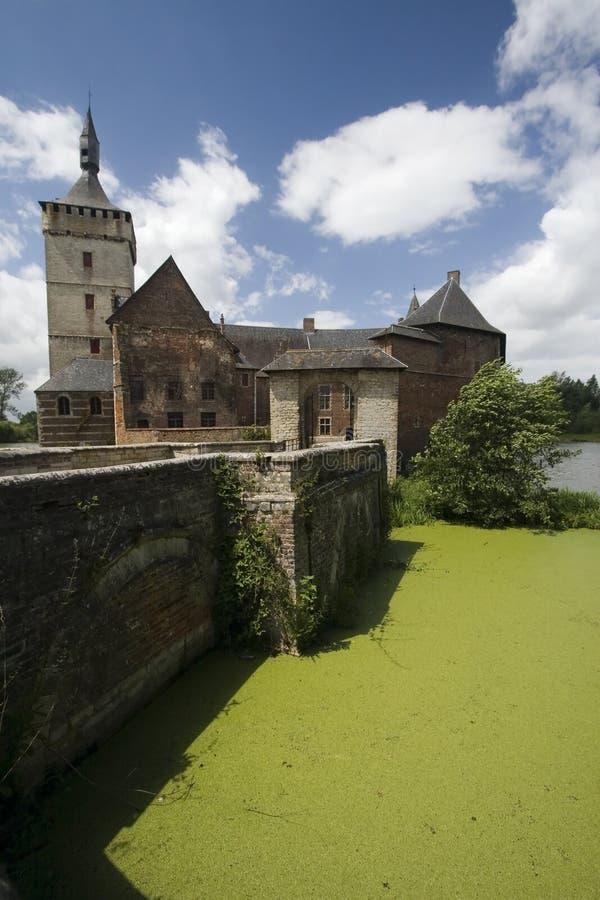 Castello Belgio fotografia stock libera da diritti