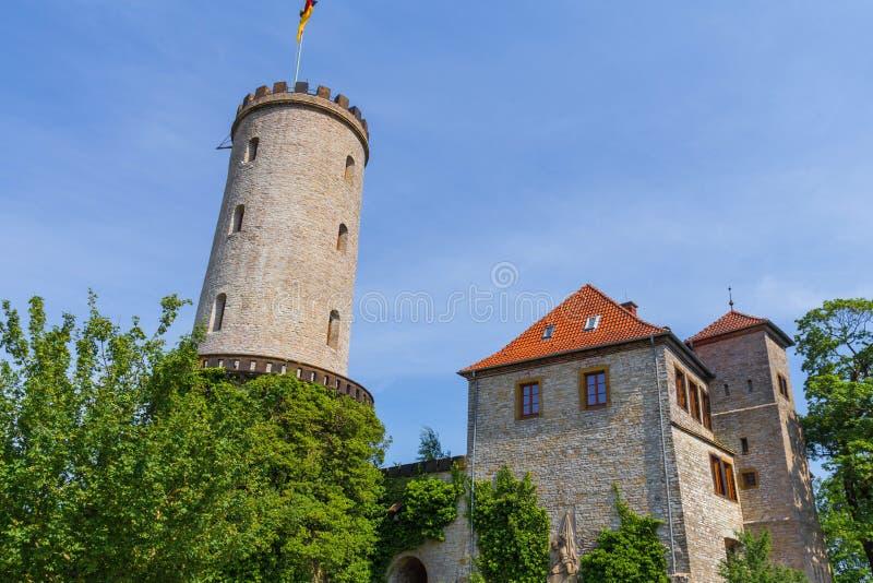 Castello Bielefeld Germania di Sparrenburg dentro di estate immagine stock