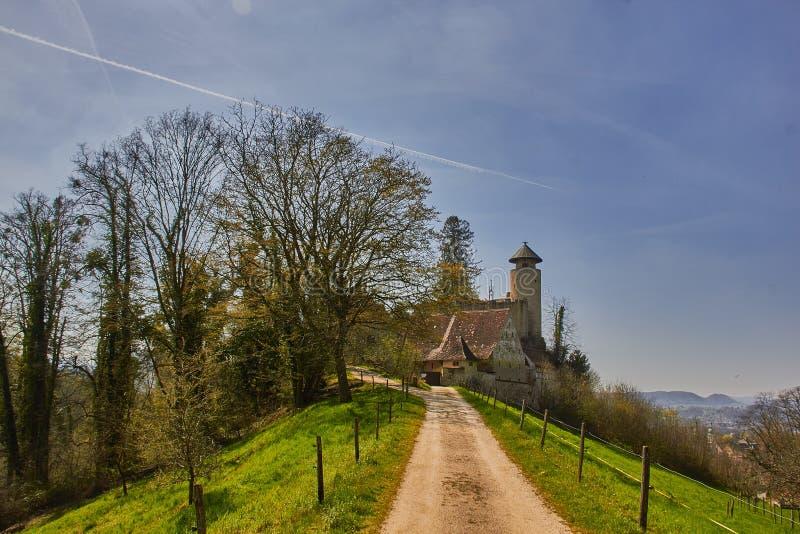 Castello Birseck in Arlesheim (Svizzera) fotografie stock