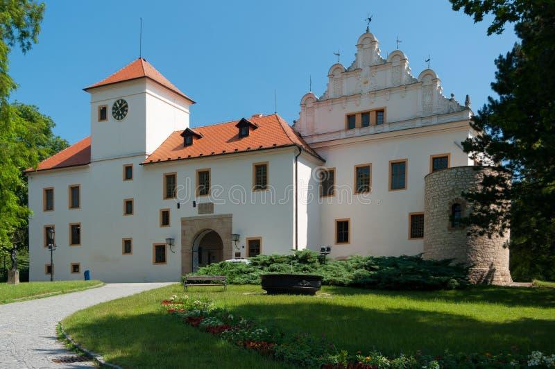 Castello Blansko di rinascita fotografia stock libera da diritti