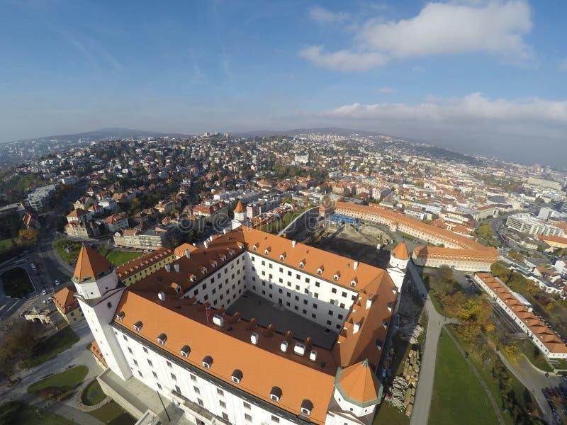 Castello a Bratislava immagini stock