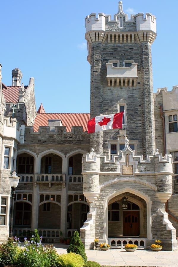 Castello canadese fotografia stock libera da diritti