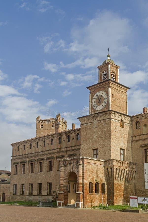 Castello in Carpi stock photo