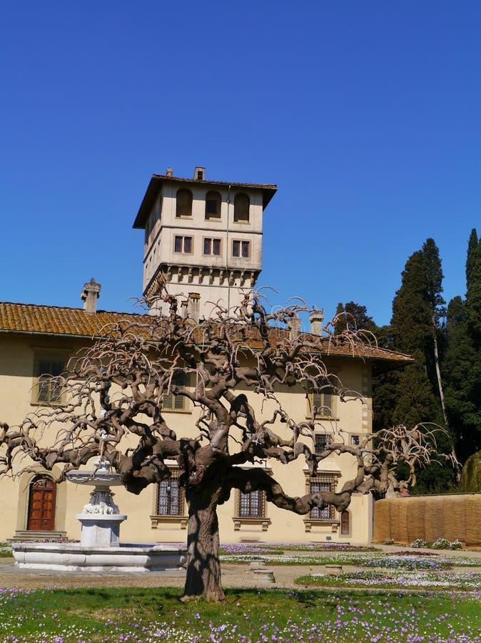 Castello cerca de Florencia en Italia imágenes de archivo libres de regalías