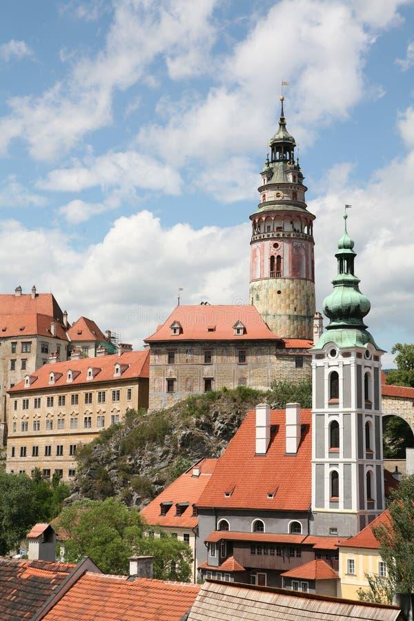 Castello Cesky Krumlov immagine stock libera da diritti