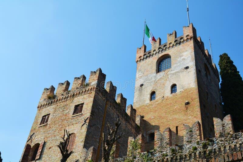 Castello, Conegliano, Veneto, Italia Fotografia Stock ...