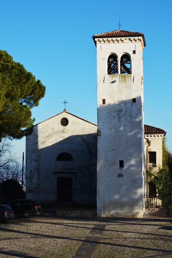 Castello In Conegliano Veneto, Italia Fotografia Stock ...