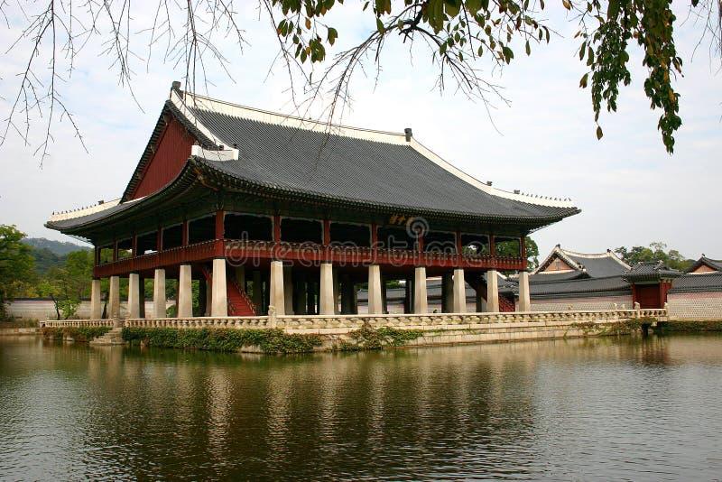 Castello Coreano Immagini Stock