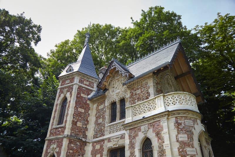 """Castello d """"se nel parco de Monte Cristo immagini stock"""