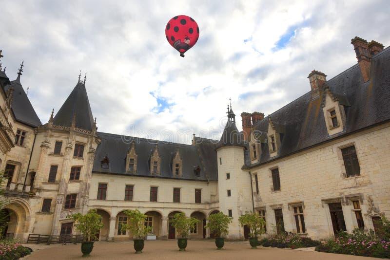 Castello de Chaumont, Loire Valley, Francia fotografie stock
