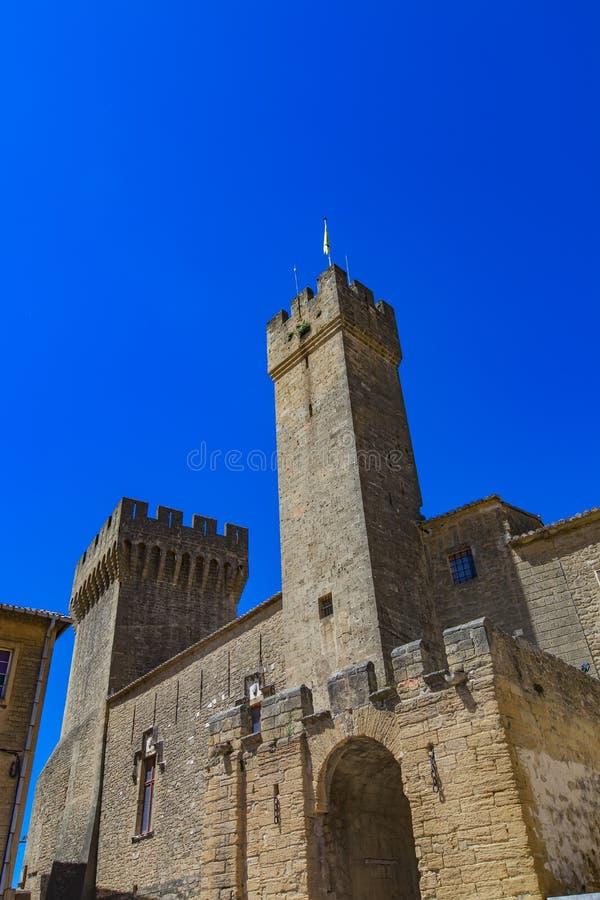"Castello de l ""Emperi a Salon de Provence, Francia fotografie stock"
