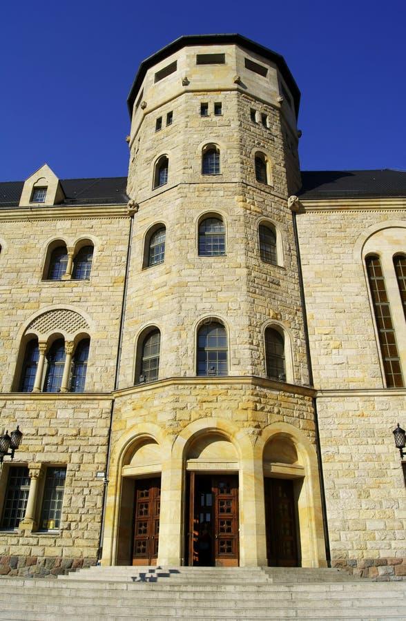 Castello degli imperatori a Poznan immagini stock