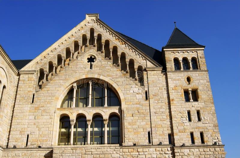 Castello degli imperatori a Poznan immagine stock libera da diritti