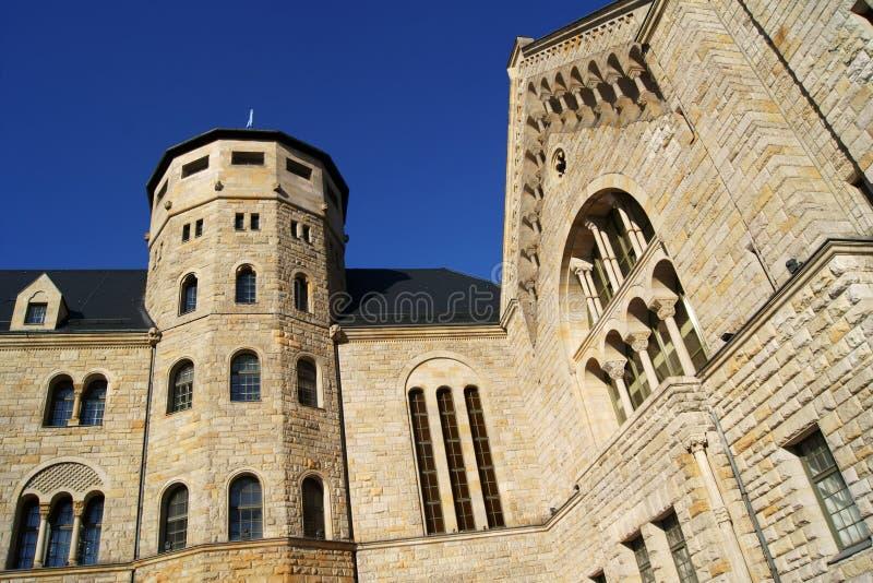 Castello degli imperatori a Poznan fotografia stock