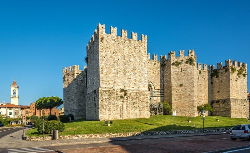 Castello degli imperatori in Prato immagini stock libere da diritti