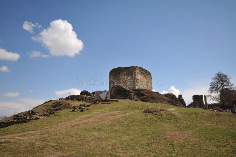 Castello dei sari immagine stock