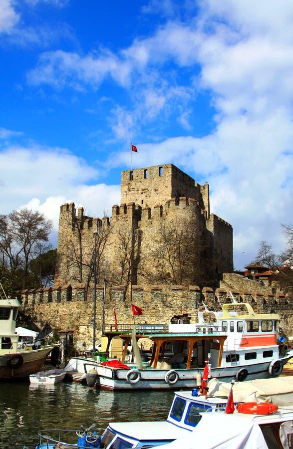 Castello del Anatolia fotografia stock libera da diritti