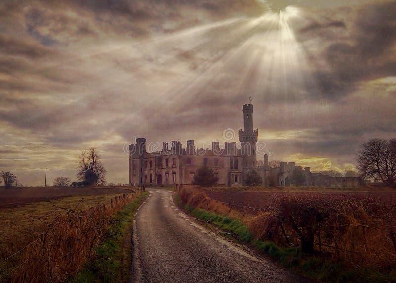 Castello del boschetto di Ducketts fotografia stock libera da diritti