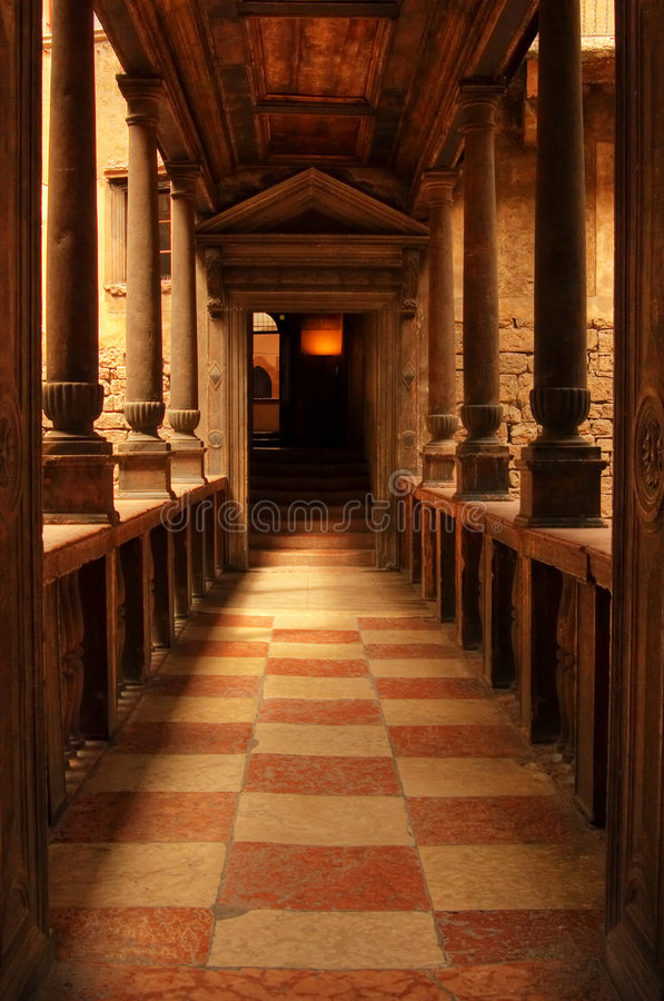Castello del Buonconsiglio royalty free stock images