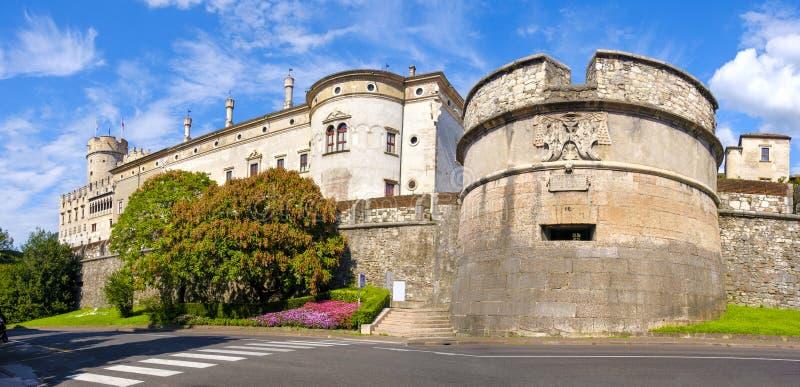 Castello del Buonconsiglio Buonconsiglio Castle in Trento - stock photos