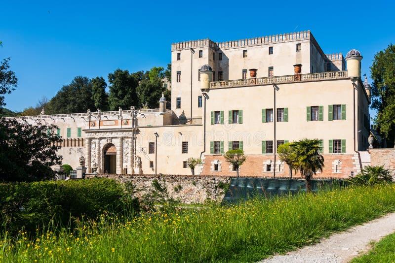 Castello del Catajo imagen de archivo