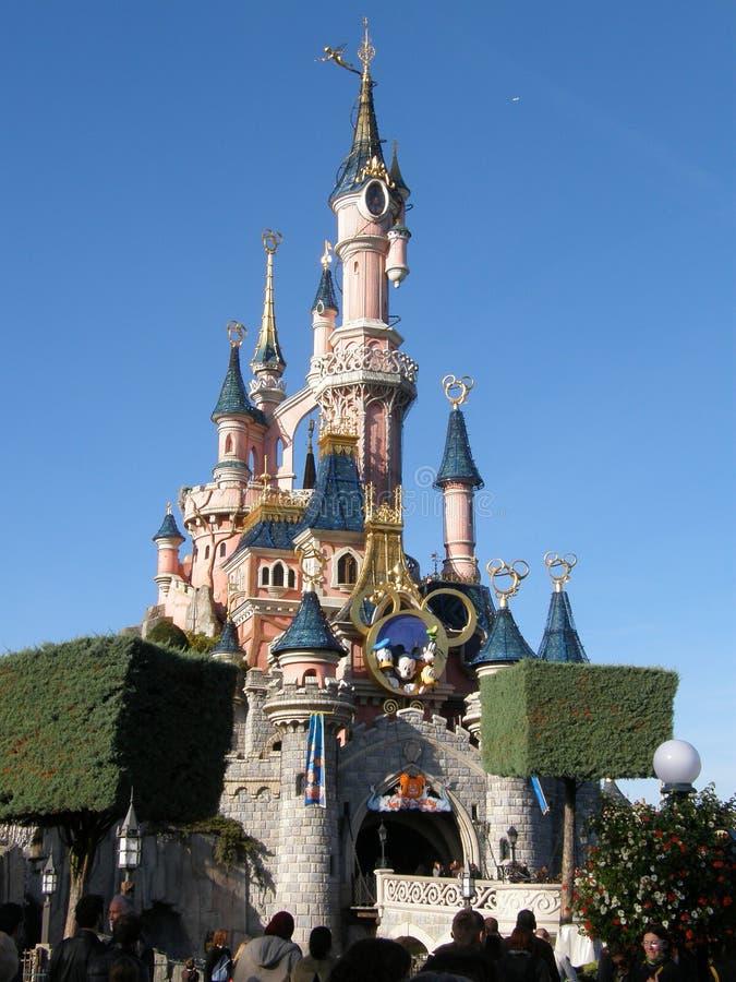 Castello del Disney fotografie stock