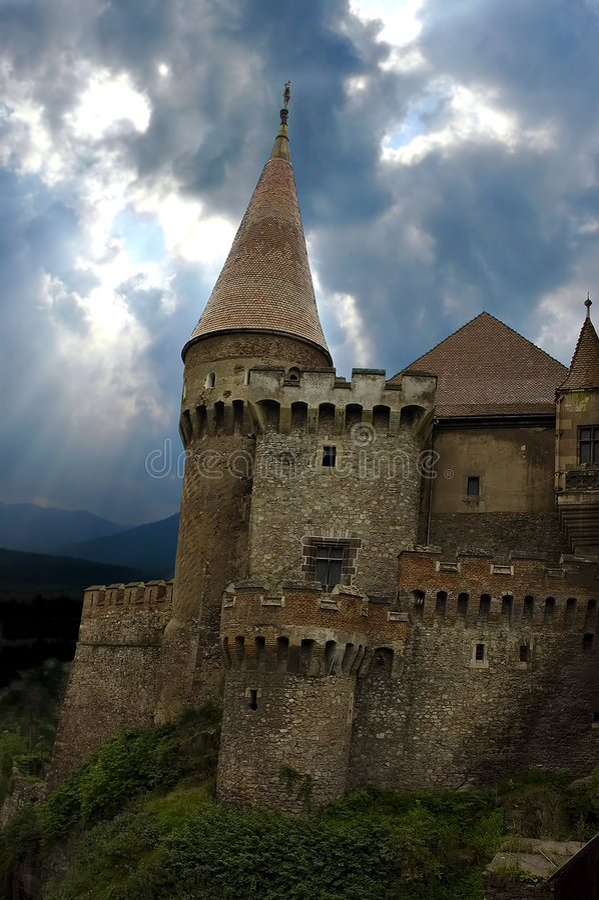 Castello del Dracula immagini stock