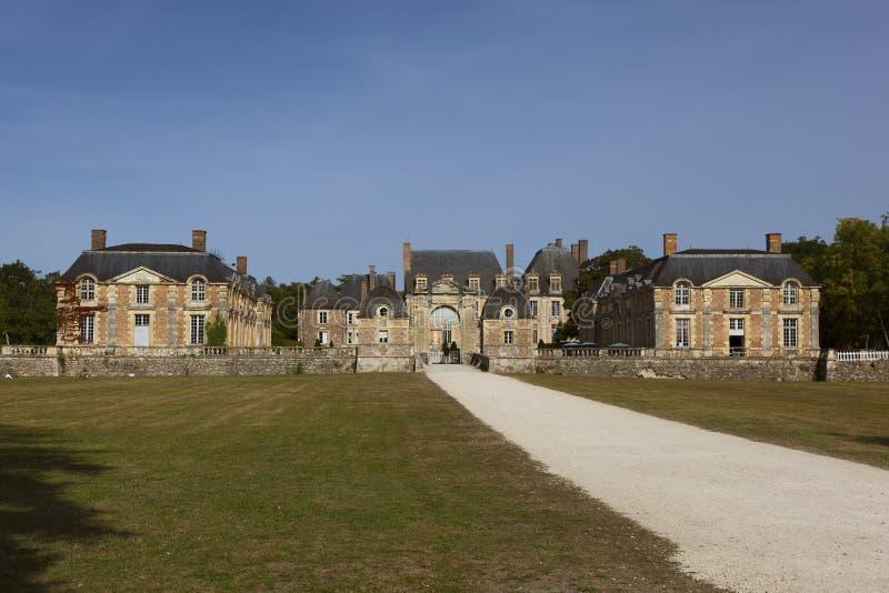 Castello del ferte-san-Aubin della La immagini stock libere da diritti