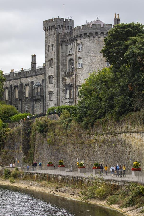 Castello del Kilkenny in Irlanda immagini stock libere da diritti
