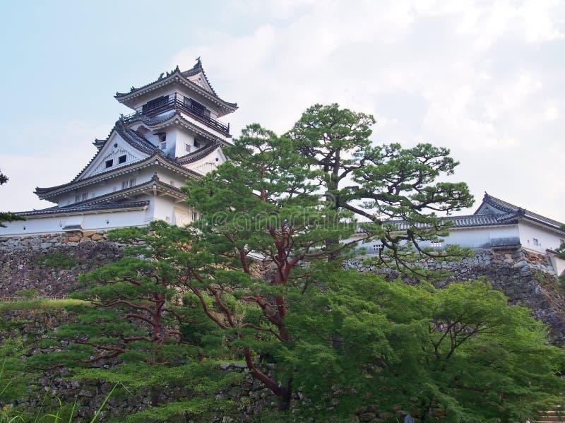 Castello del Kochi nel Kochi, prefettura di Kochi, Giappone fotografie stock libere da diritti