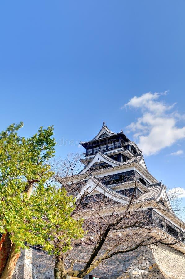 Castello del Kumamoto fotografia stock