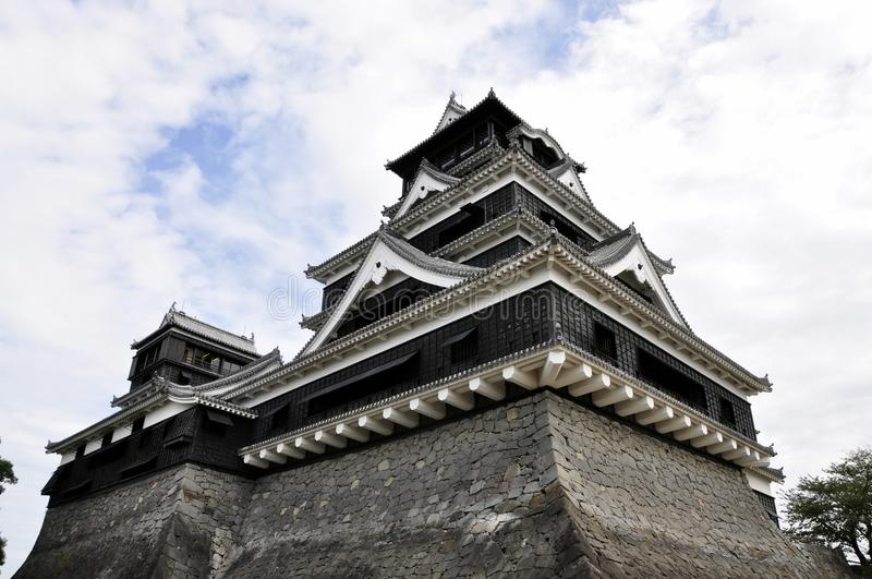 Castello del Kumamoto, Giappone immagini stock