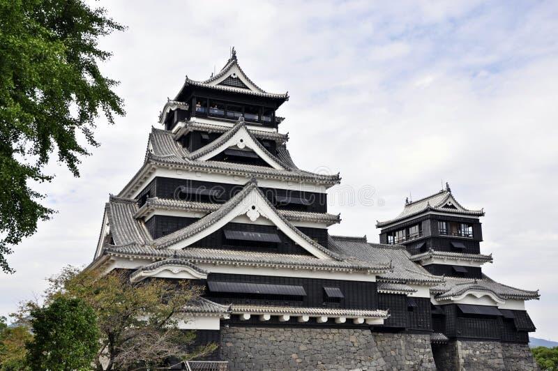 Castello del Kumamoto, Giappone immagini stock libere da diritti