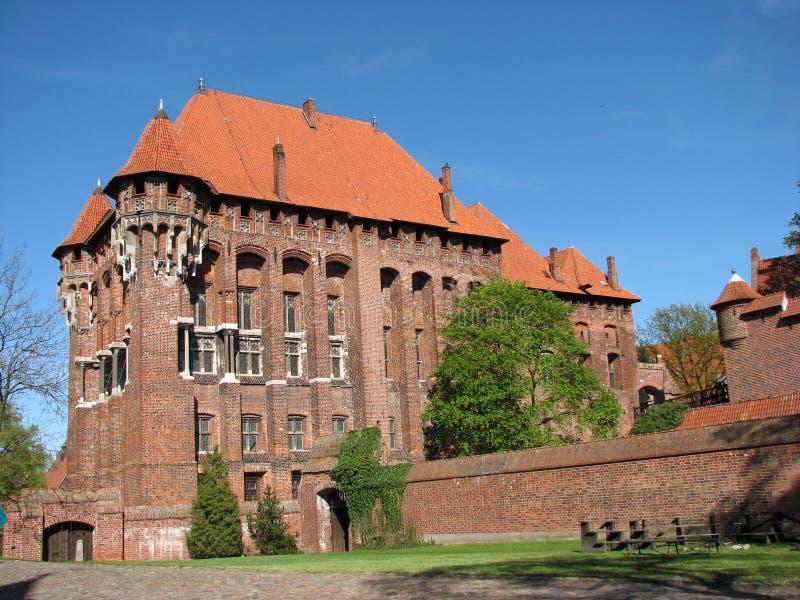 Castello del mattone fotografie stock libere da diritti