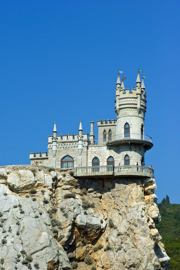 Castello del nido degli Swallows. immagine stock libera da diritti