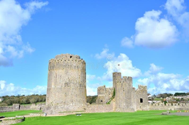 Castello del Pembroke fotografia stock libera da diritti