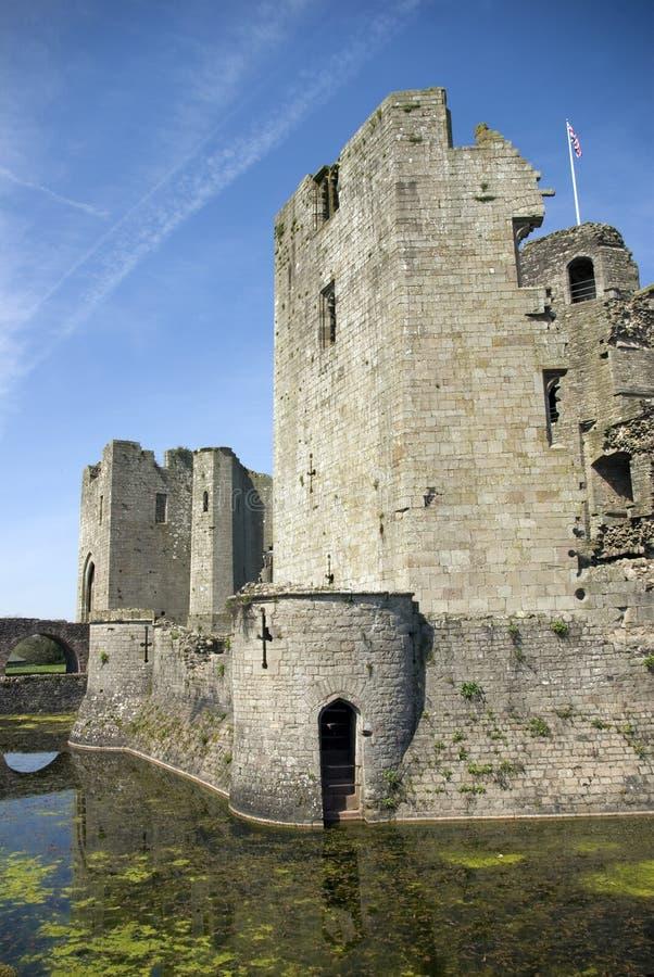 Castello del Raglan fotografie stock libere da diritti
