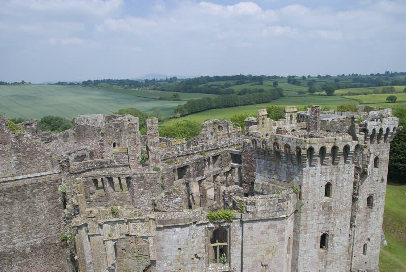 Castello del Raglan immagini stock libere da diritti