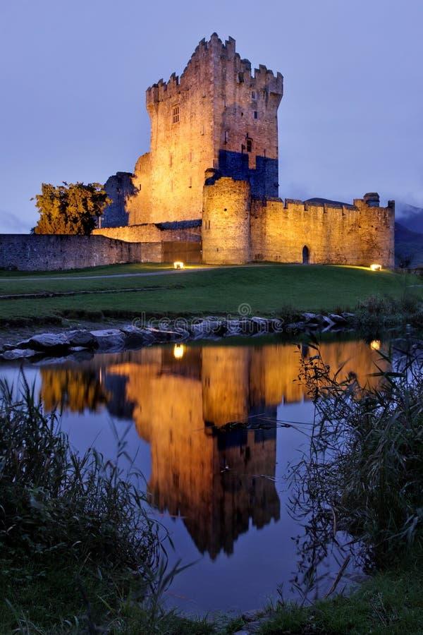 Castello del Ross, sughero, Irlanda immagine stock