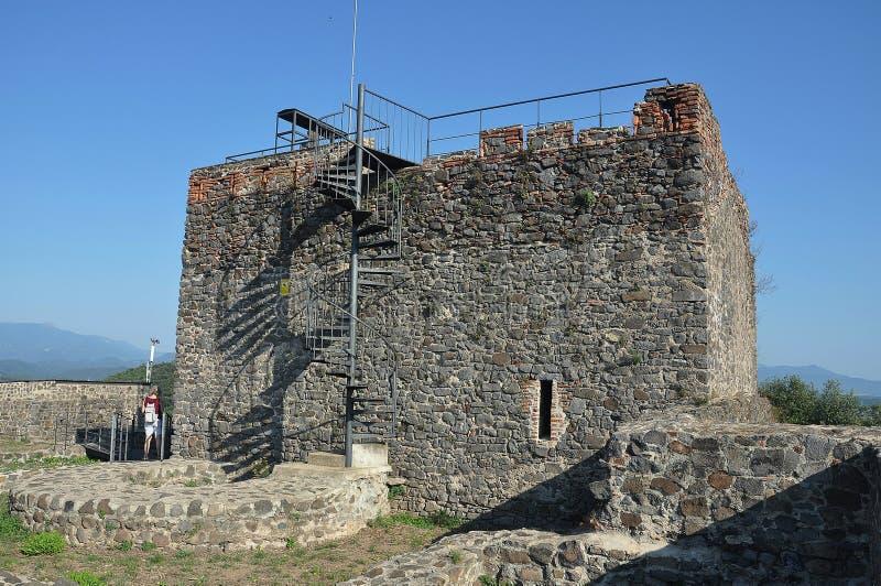 Castello del ` s del ³ di TorcafellÃ, Spagna fotografie stock libere da diritti