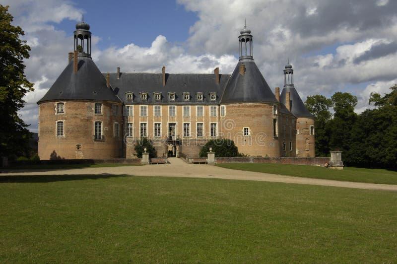 Castello del san Fargeau fotografia stock libera da diritti