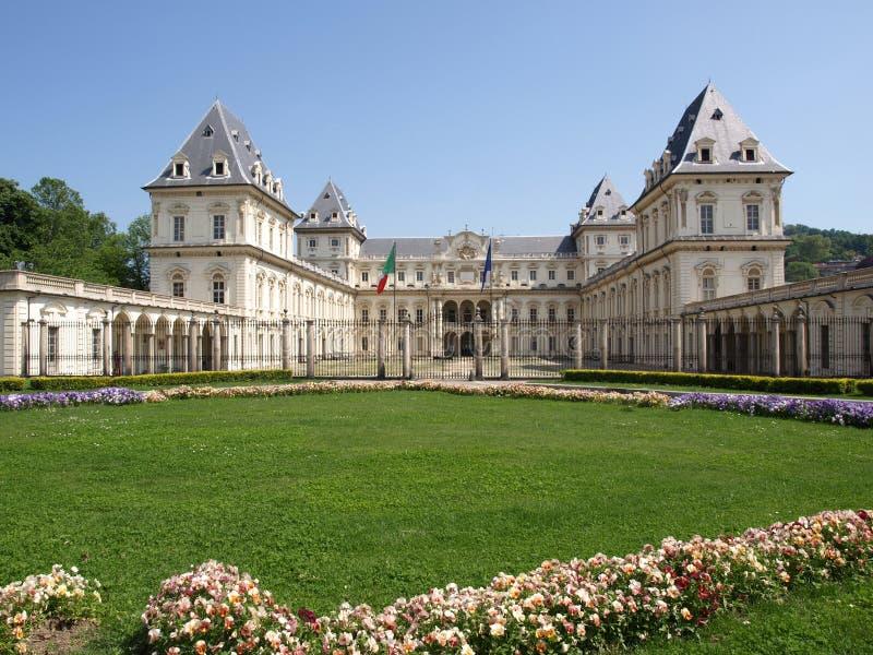 Castello del Valentino, Turin fotos de stock royalty free