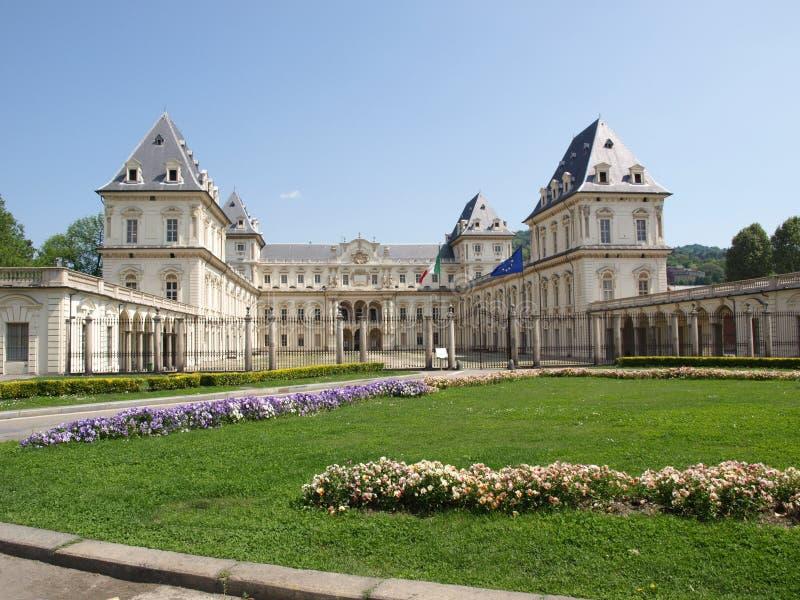 Castello del Valentino, Turin imagens de stock